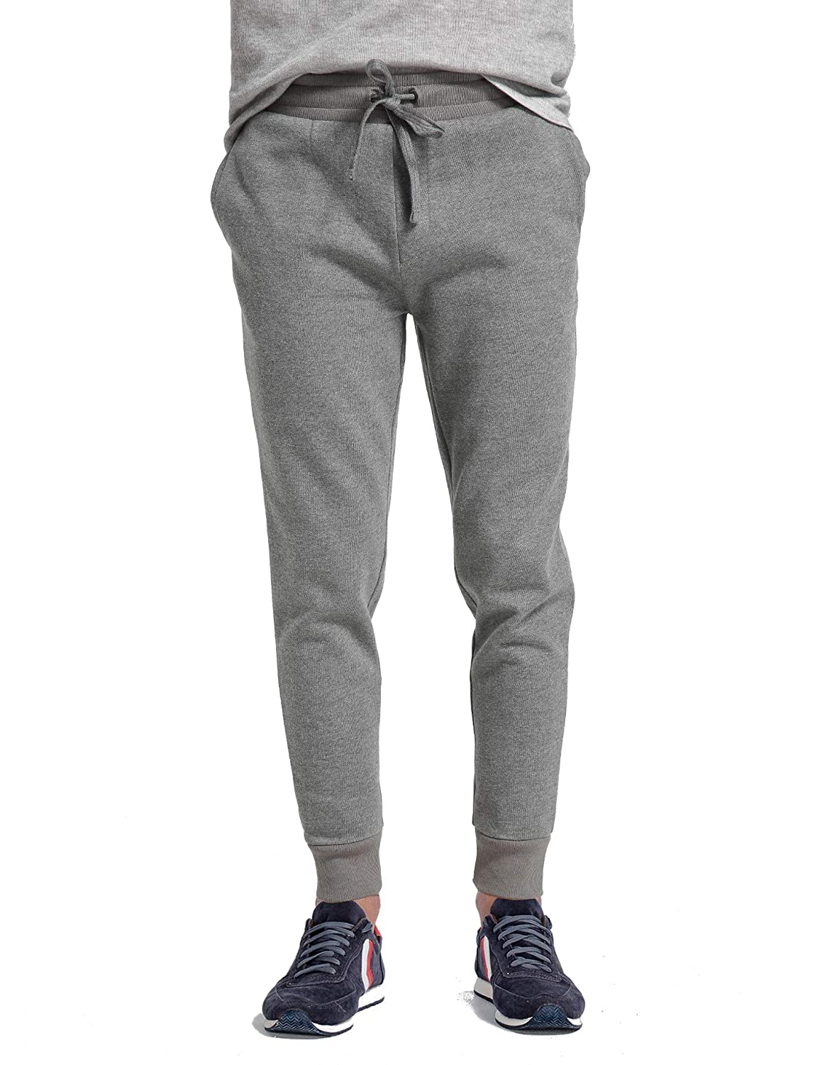 f7ebc6ad7b7d Amazon.com  CYZ Men s Jogger Sweatpants Tracksuit Bottoms Training Running  Trousers  Clothing