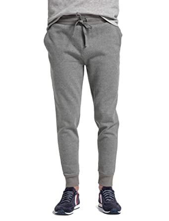 b0d516f23c61 CYZ Men s Jogger Sweatpants Tracksuit Bottoms Training Running Trousers -Charcoal-S