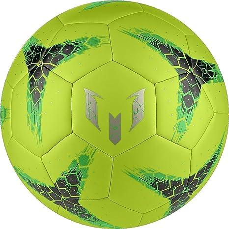 adidas Messi Q2 Balón De Fútbol (Limo Solar) (Tamaño De Los EE.UU ...