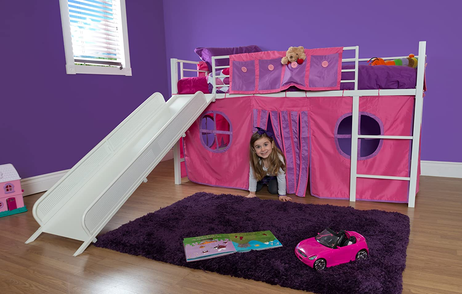 100 bunk bed with slide white bunk bed with slide home desi