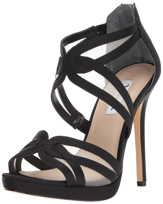 [ニナ] Womens Fayette Open Toe Special Occasion Ankle Strap Sandals [並行輸入品] B0744S84SY 10 B(M) US|Ls-black/Champ Ls-black/Champ 10 B(M) US
