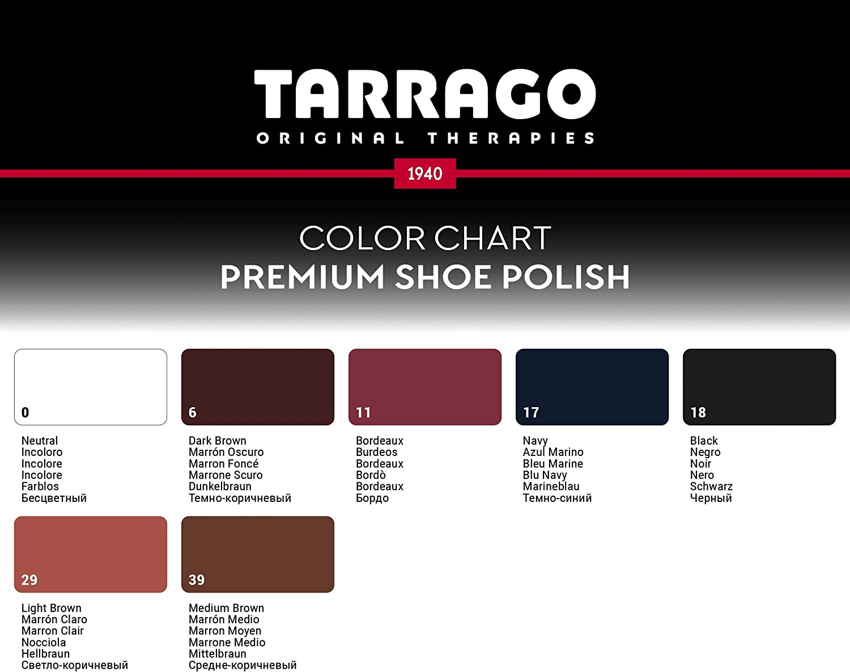 Tarrago Premium Shoe Polish, 50ml tin (17 Navy): Shoes