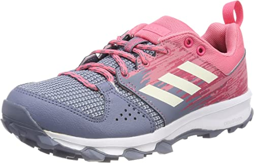 Electricista Y equipo Mareo  adidas Galaxy Trail, Women's Trail Running Shoes, Grey (Raw Steel/Chalk  White/Real Pink), 4.5 UK (37 1/3 EU): Amazon.co.uk: Shoes & Bags