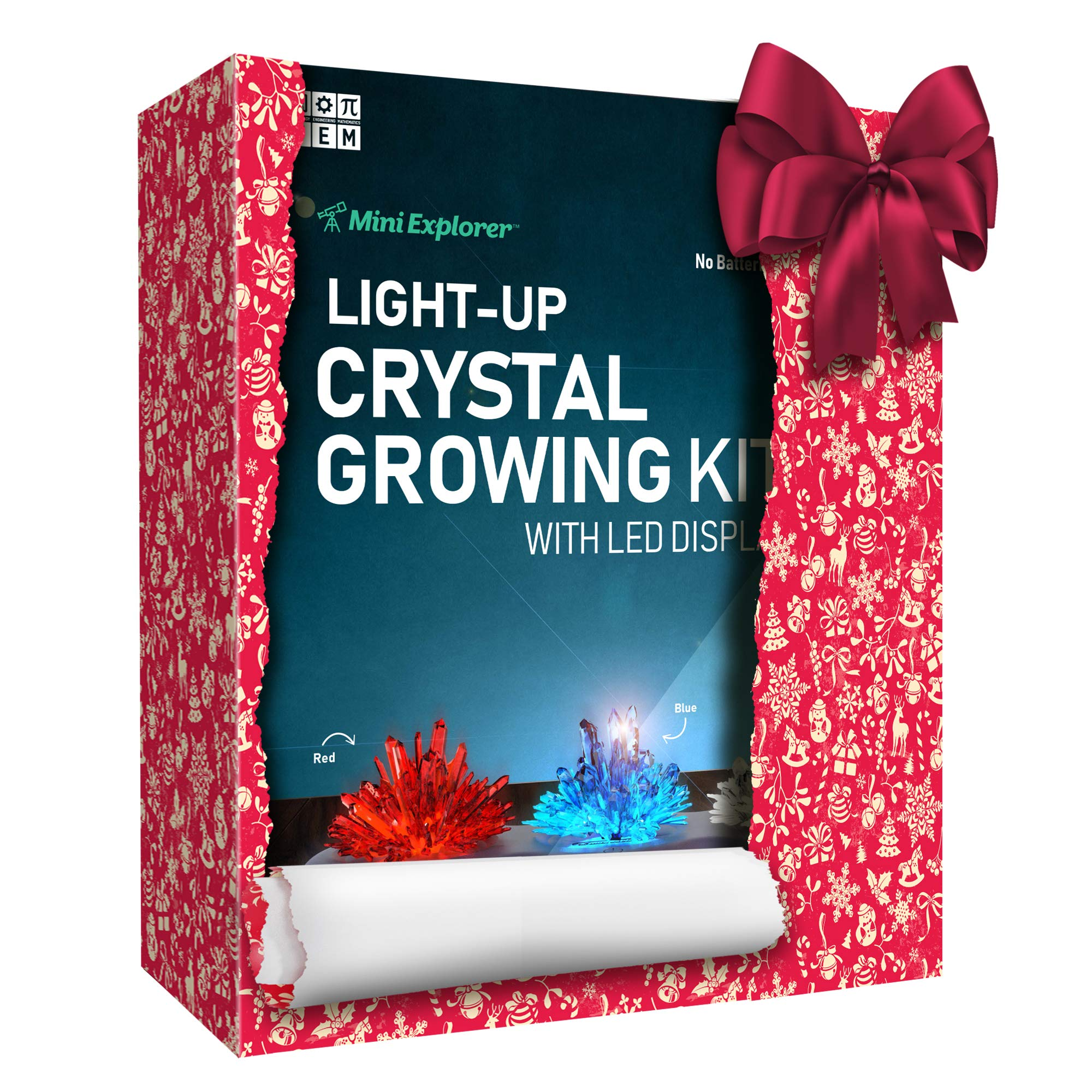 Mini Explorer Light Up Crystal Growing Kit Grow Your Own Crystals