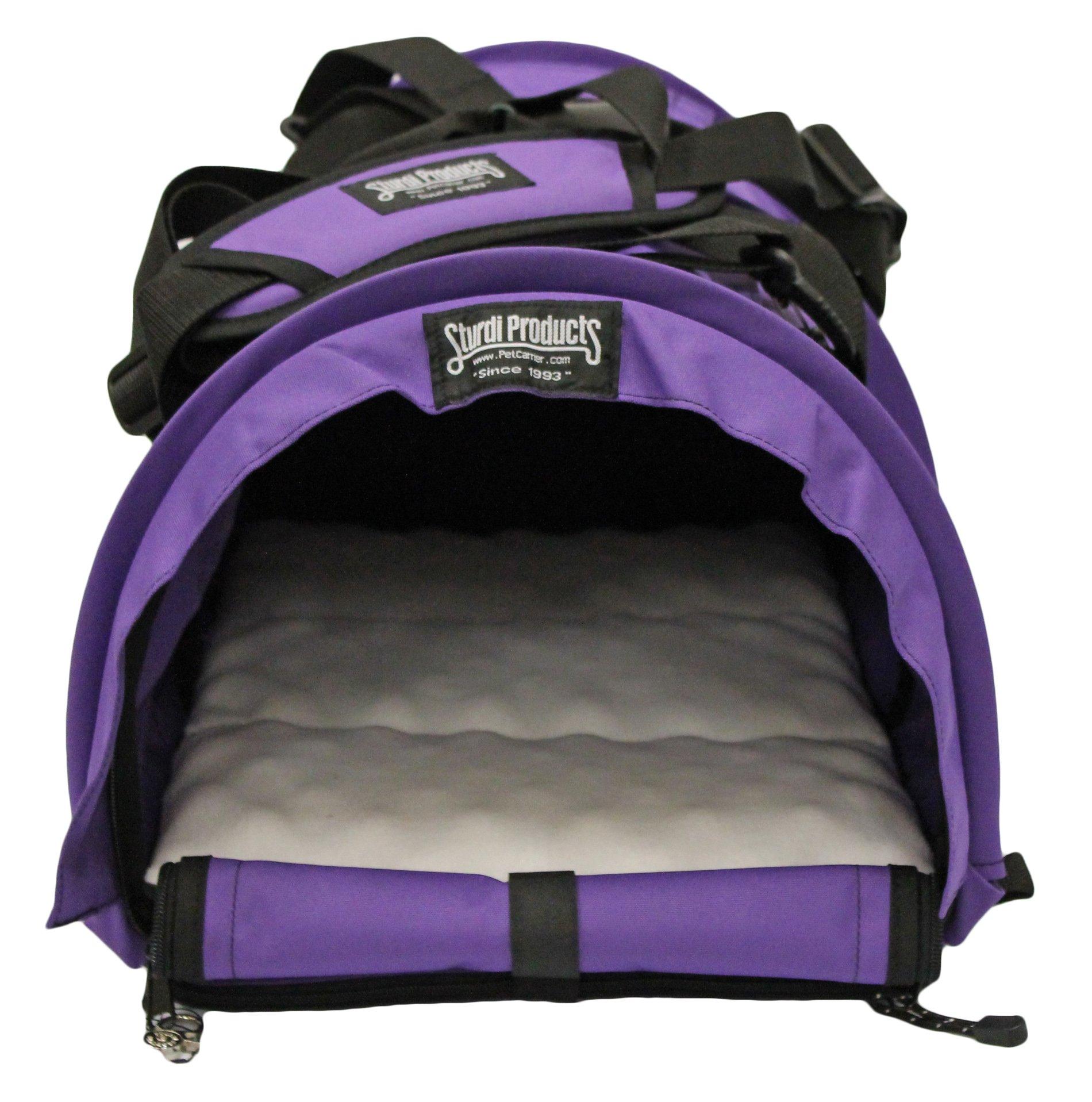 STURDI PRODUCTS SturdiBag Pet Carrier, Large, Purple by STURDI PRODUCTS
