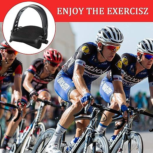 Boao 6 Packungen Gummi Pedal Gurte Heimtrainer Pedal Gurte Fu/ß Pedal Gurte zum Spinnen von Heimtrainer Fahrrad R/ädern f/ür zu Hause oder Fitness Studio