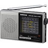 AudioComm AM/FM/SW ハンディ短波ラジオ [品番]07-7928 RAD-S520N