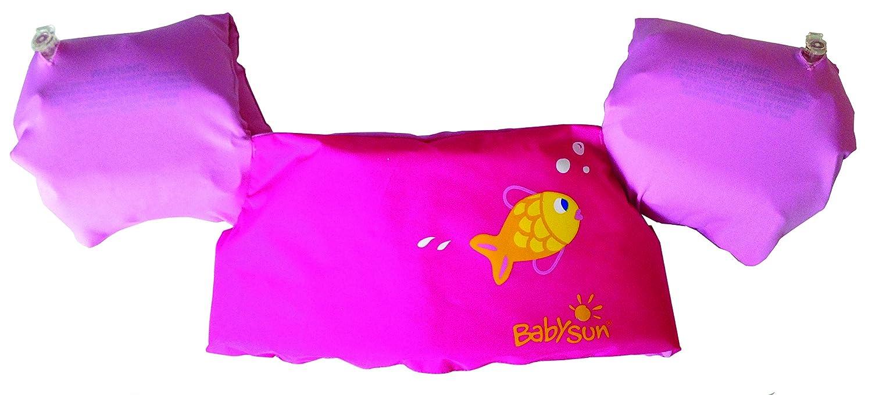 BabySun - Cintura con braccioli 2 in 1, colore: rosa 80800870