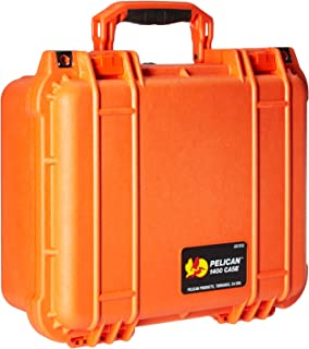 product image for Pelican 1400 Camera Case With Foam (Orange)