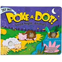 Melissa & Doug Children's Book - Poke-a-Dot: Goodnight, Animals (Board Book with Buttons to Pop)