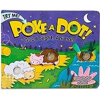 Melissa and Doug MD31343 Poke-A-Dot! Good Night, Animals Board Book