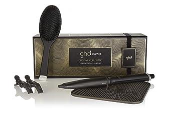 ghd Long Lasting Curling Gift Set - Set de regalo con rizador ,cepillo , clips y alfombrilla termorresistente: Amazon.es: Salud y cuidado personal