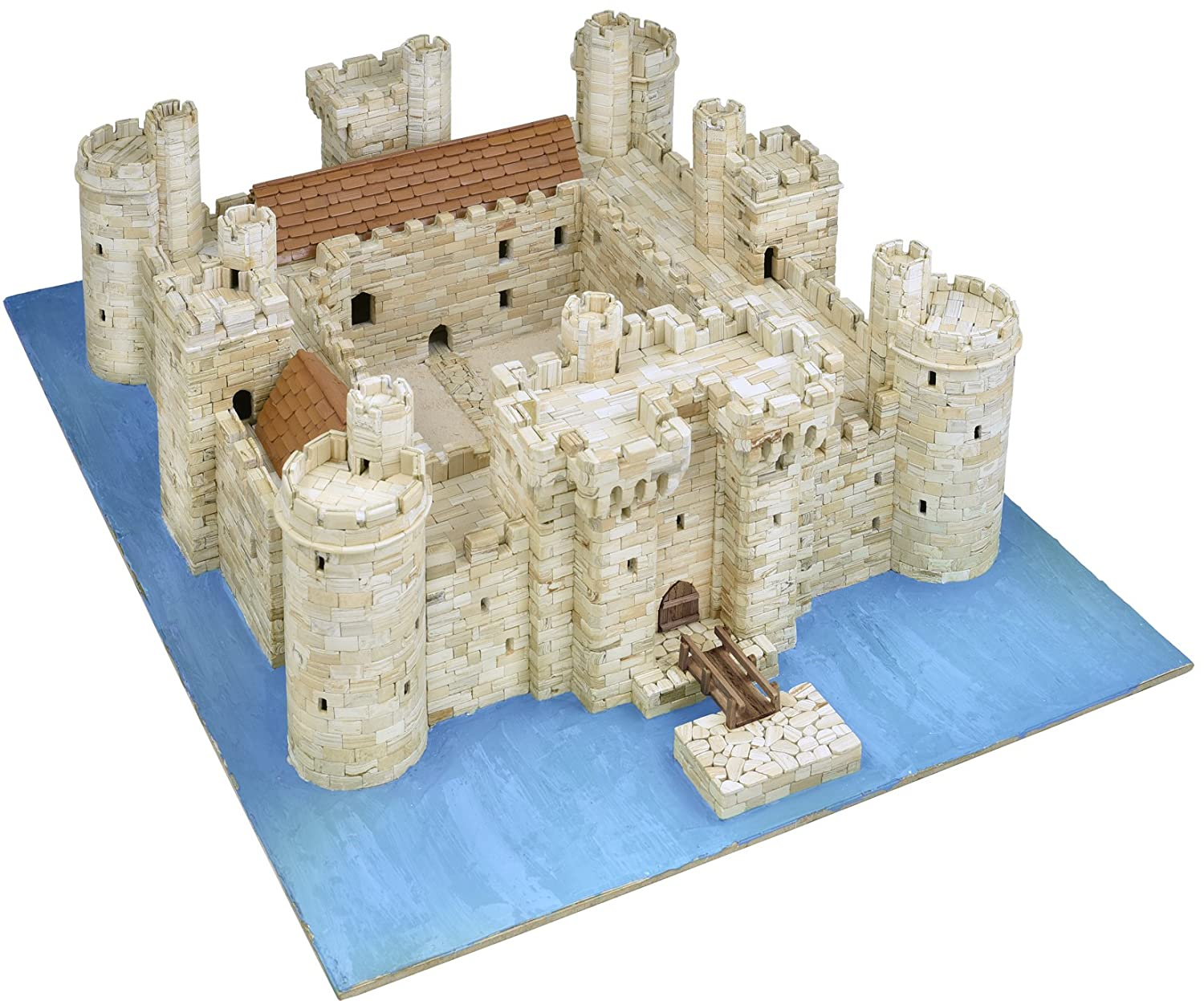 AEDES BoDiam Castle Model Kit, 37 x 26 x 7 cm: Amazon.es ...