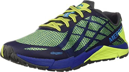 Merrell Mens Bare Access Flex Shield Trail Running Shoes Trainers Sneakers Green