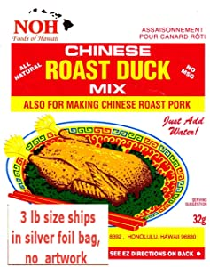 NOH Foods of Hawaii Chinese Seasoning Mix, Roast Duck, 3 Pound (Pack of 5)