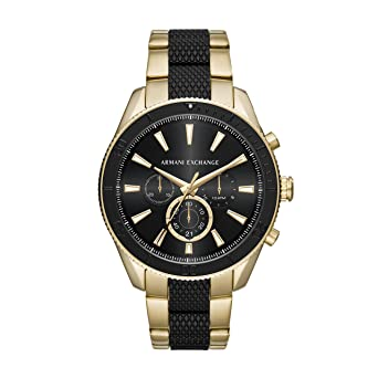 52f22579c72e Armani Exchange Reloj Analogico para Hombre de Cuarzo con Correa en Acero  Inoxidable AX1814  Amazon.es  Relojes