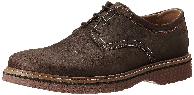 Clarks Newkirk Plain - Zapatos de Cordones de Cuero Hombre