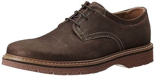 Cuero Plain Cordones Hombre De Newkirk Clarks Zapatos VpSzMU