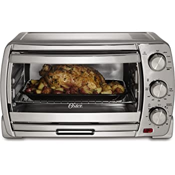 Amazon Com Oster 6058 6 Slice Digital Convection Toaster