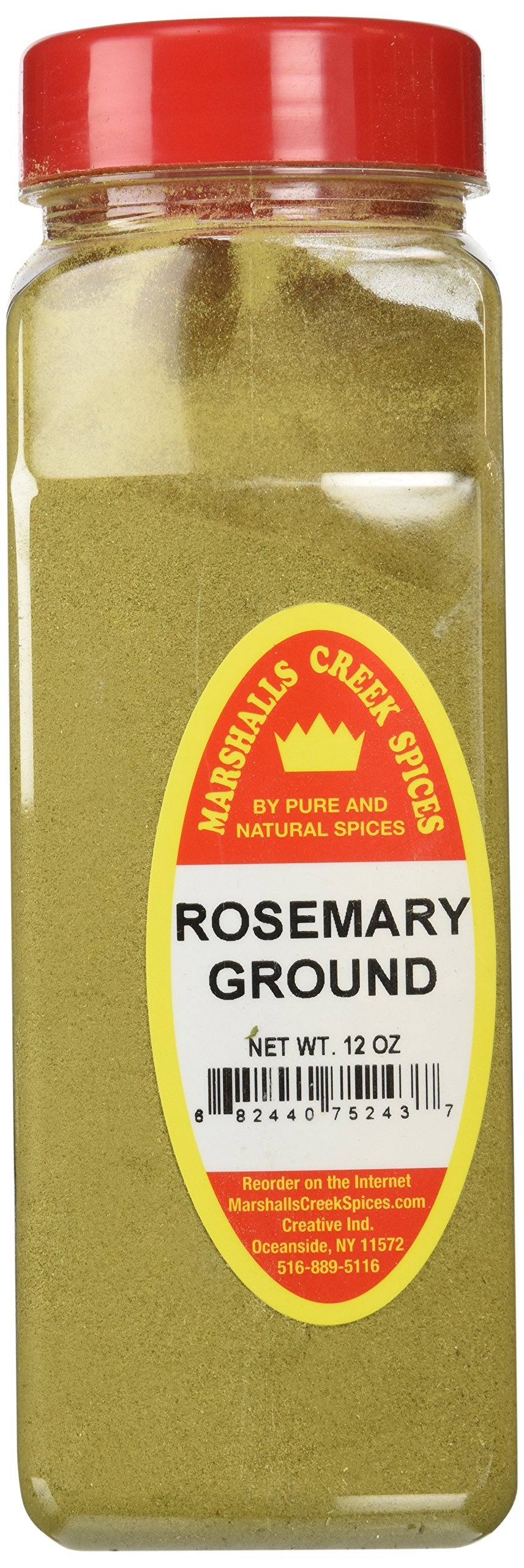Marshalls Creek Spices X-Large Size Rosemary, Ground, 12 Ounces