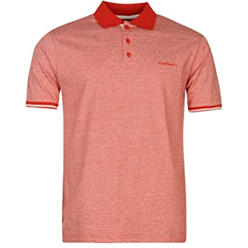 Pierre Cardin Pin Stripe Polo para hombre rojo/blanco parte ...