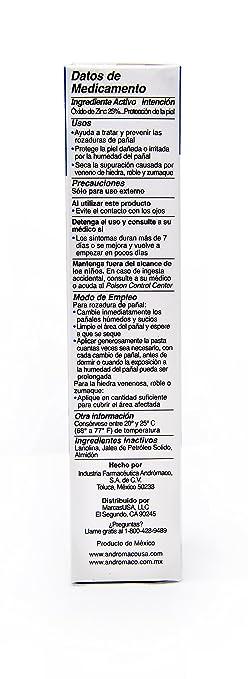 Amazon.com: Pasta De Lassar Original Diaper Rash Ointment 2.1 oz tube (Pack of 3): Health & Personal Care