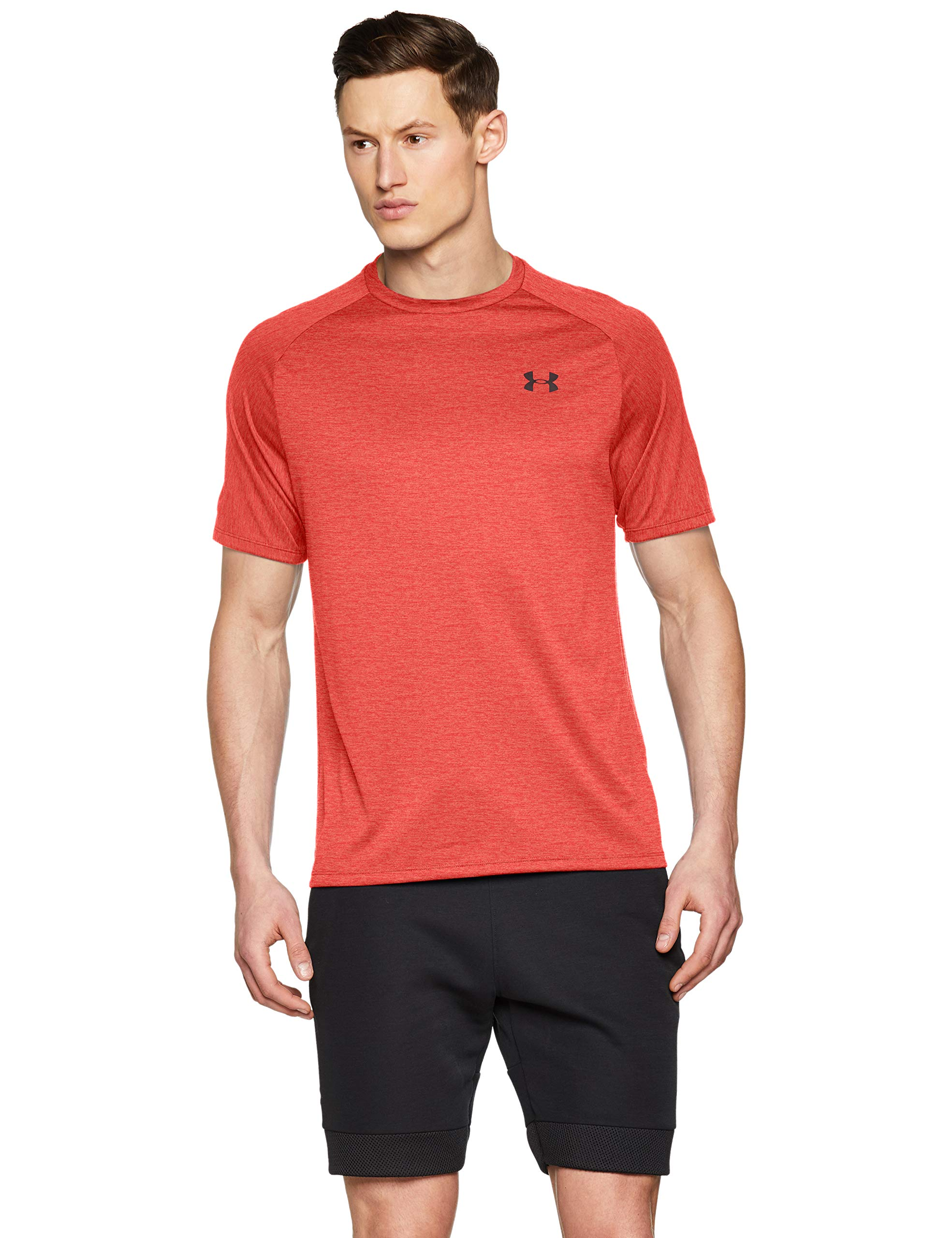 Under Armour Men's Tech 2.0 Short Sleeve T-Shirt, Barn (633)/Pitch Gray, 3X-Large by Under Armour (Image #1)