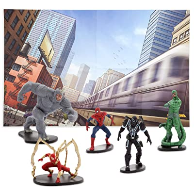 Marvel Spider-Man Figure Play Set: Toys & Games