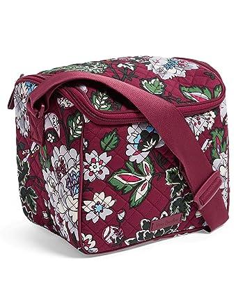 Amazon.com  Vera Bradley Women s Iconic Stay Cooler (Bordeaux Blooms ... a725fc1d8bc64