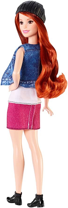 Barbie - Fashionista, muñeca Cool con Camiseta de Gatitos (DVX69): Amazon.es: Juguetes y juegos