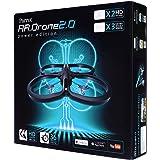 パロット エイアール ドローン 2.0 パワーエディション HDカメラ付 クワッドコプター (「HDバッテリー」×2本、「カラープロペラ」×3色同梱) 【日本正規品】