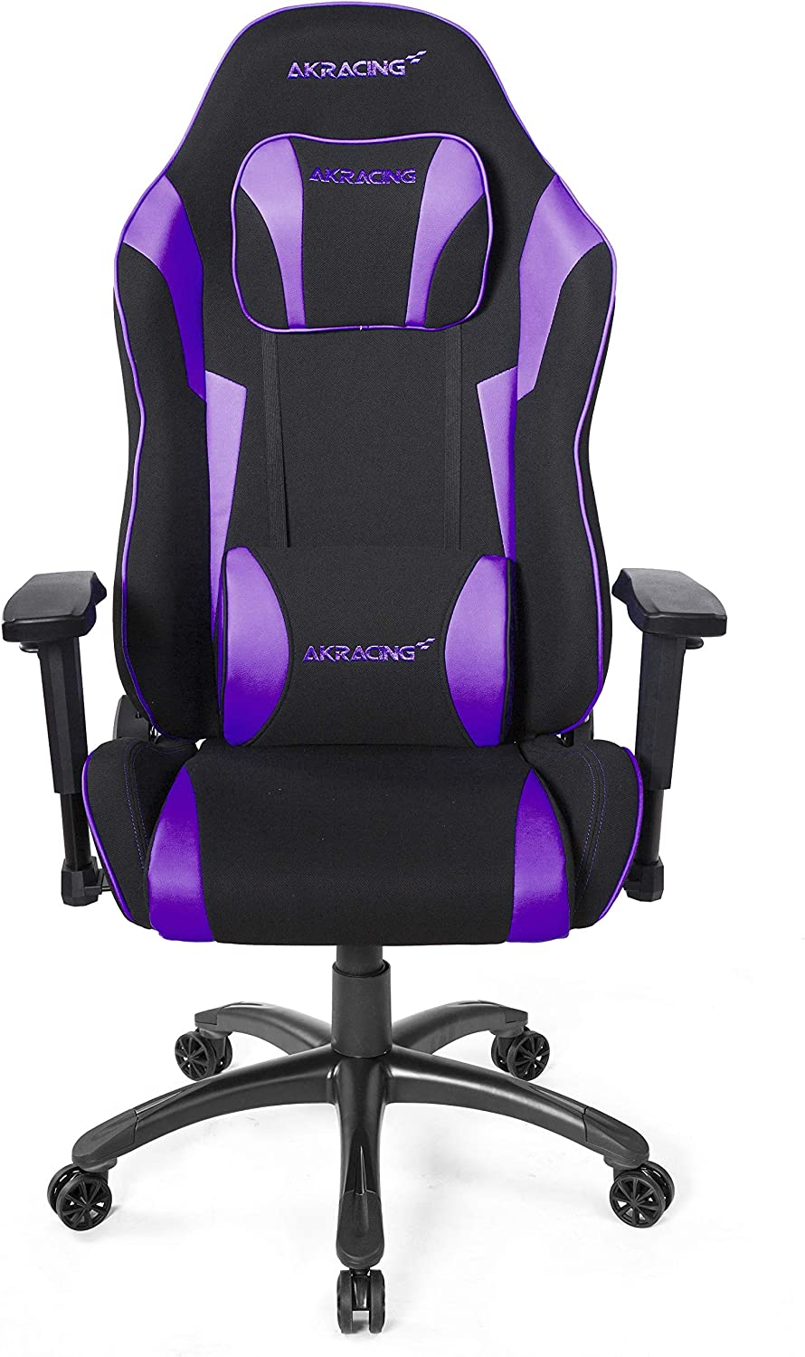 AKRacing Core Series EX-Wide SE Ergonomic Purple Gaming Chair with Wide Seat, 330 Lbs Weight Limit, Rocker and Seat Height Adjustment Mechanisms with 5/10 Warranty