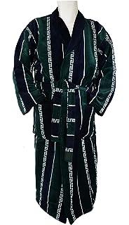 ilkadim Albornoz, bata para hombre con un precioso rayas y Versace Diseño (verde azul