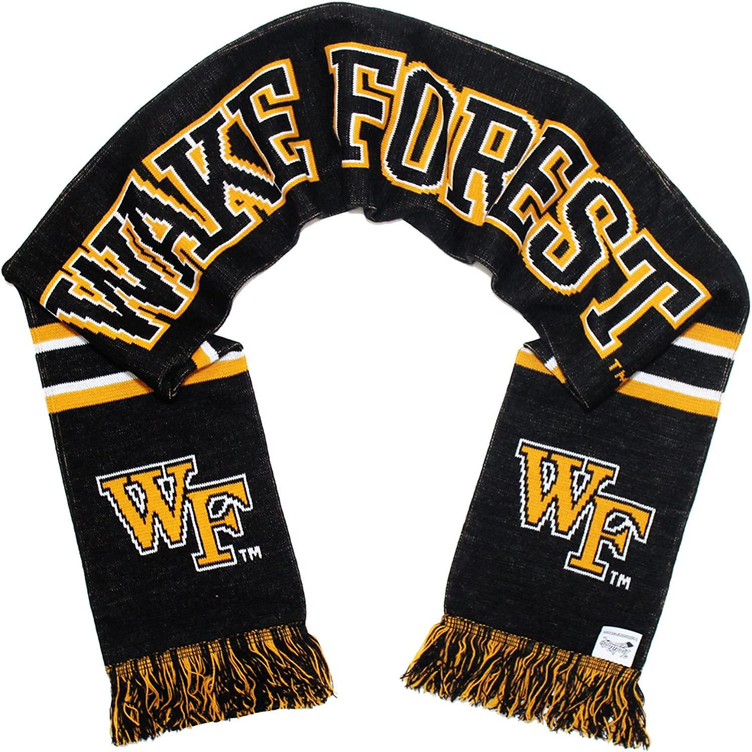 Tradition Scarves Wake Forest Scarf - WFU Demon Deacons Classic Knitted