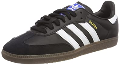 86b9895f41a8d1 adidas Mens Samba OG Athletic   Sneakers Black