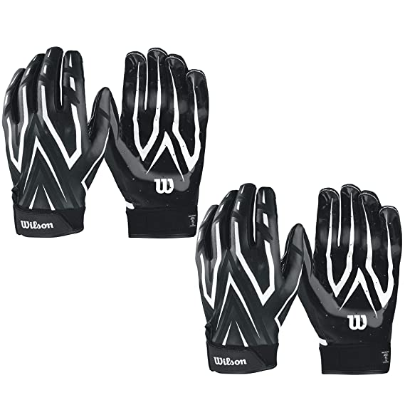 Wilson adulto MVP embrague fútbol Running Back guantes de receptor ...
