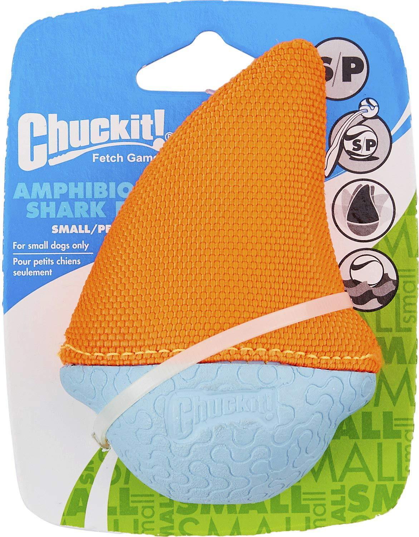 Chuckit! Amphibious Shark Dog Toy, Small, 12 Pack by Chuck It!