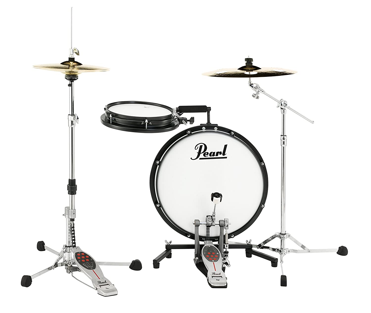 Pearl PCTK1810 Compact Traveler 2-pc. Drum Kit Pearl Corporation