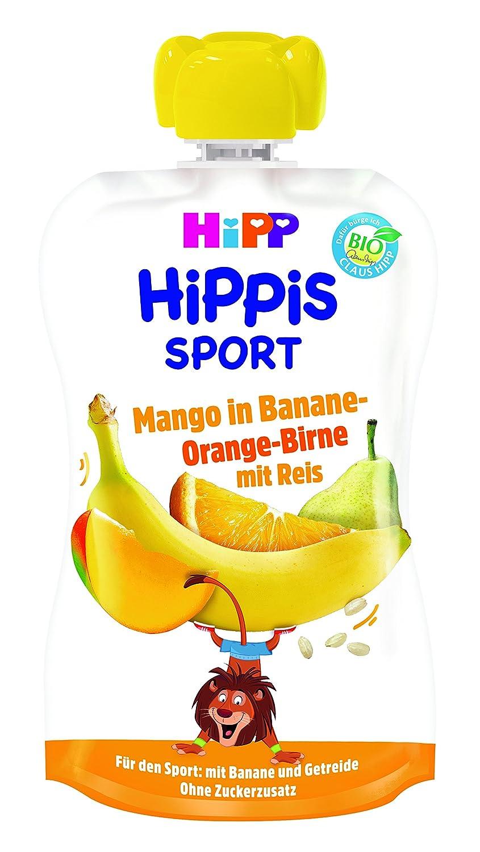 HiPP Sport Mango in Banane-Orange-Birne mit Reis, 6er Pack (6 x 120 g) 8606