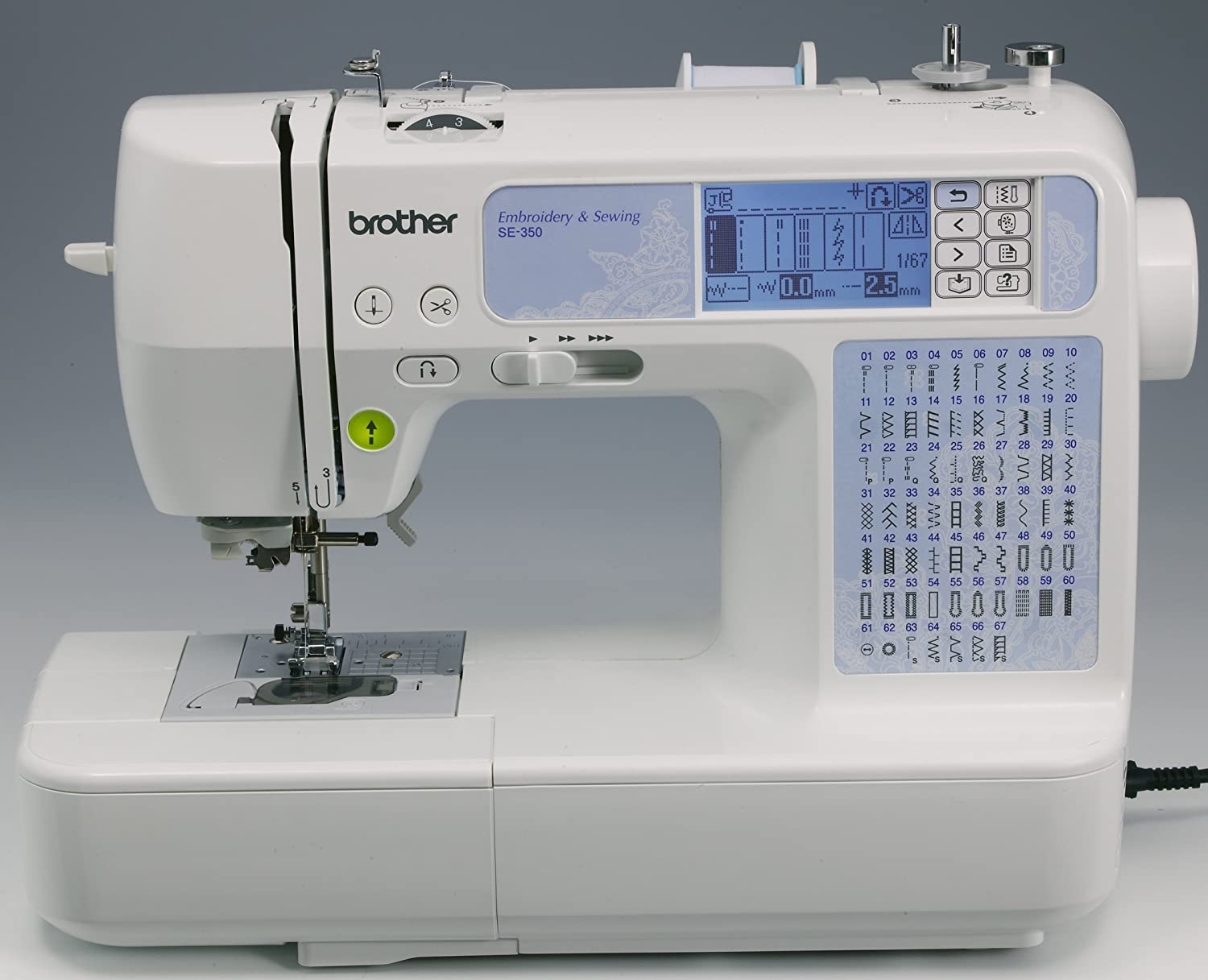 Best Sewing Machine with Embroidery - Computerized with