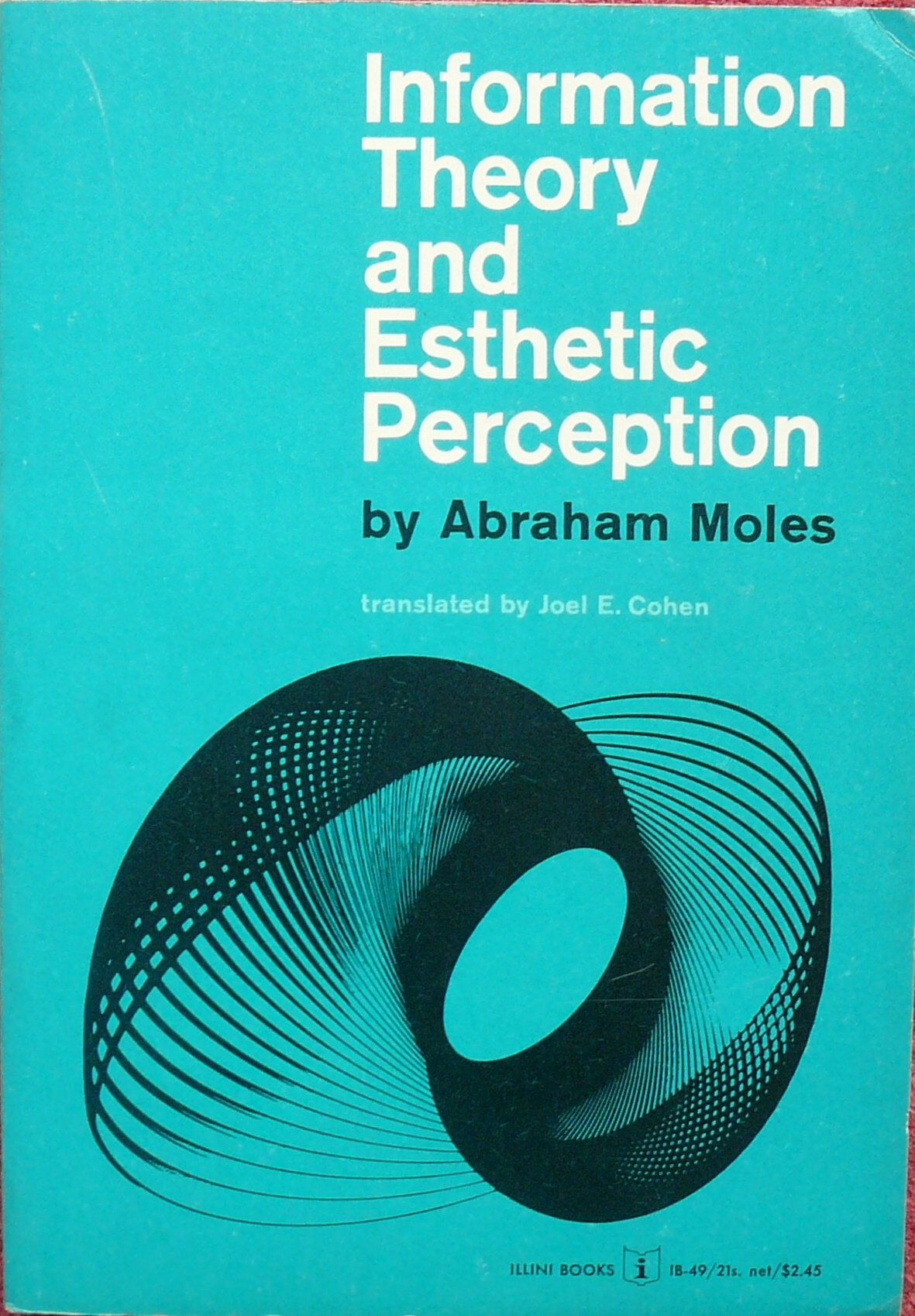 Information Theory and Esthetic Perception, Moles, Abraham