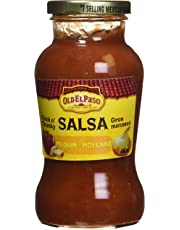 Old El Paso Thick N' Chunky Salsa Medium, 440 Milliliter