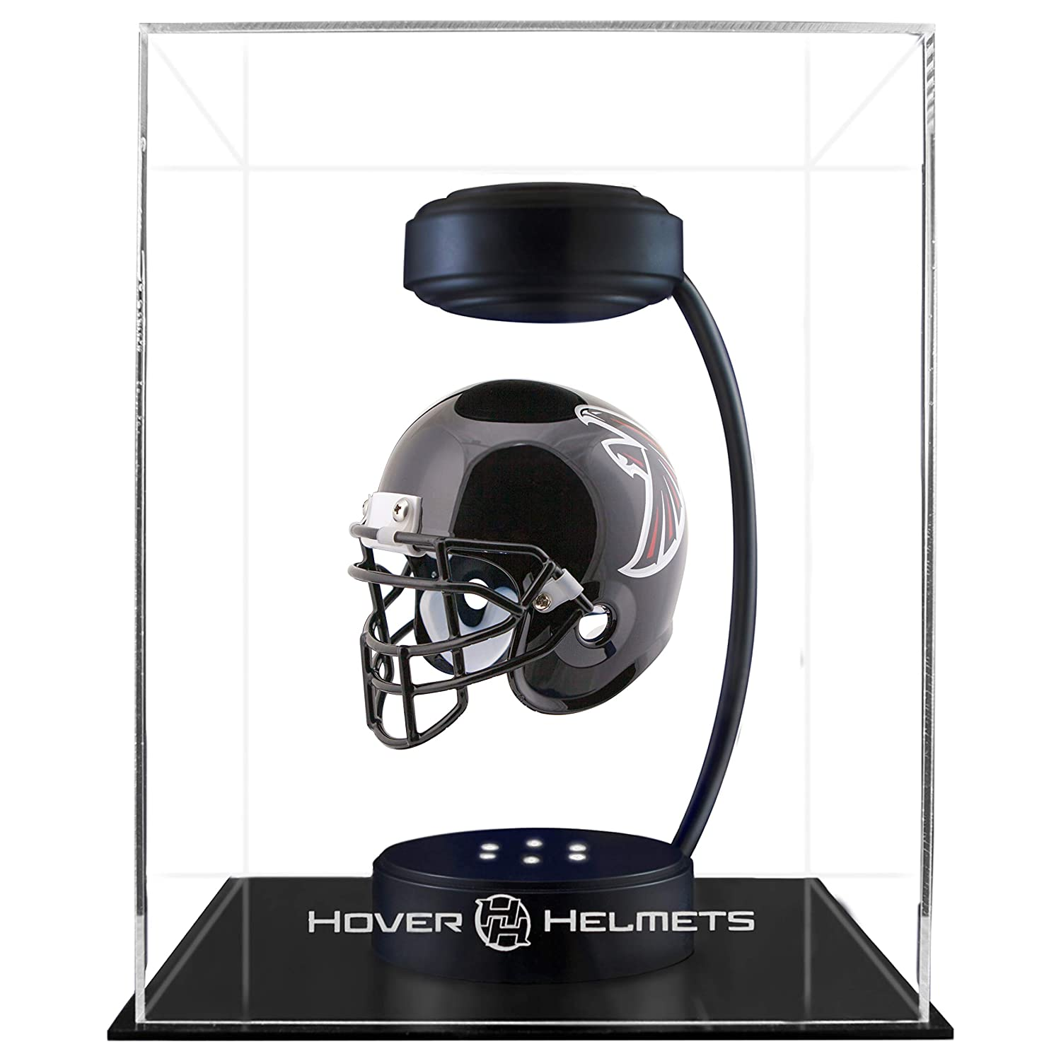 b8ff5b4fb5c Hover Helmets NFL Unisex NFL Collectible Levitating Football Helmet with  Electromagnetic Stand Atlanta Falcons- Team larger image