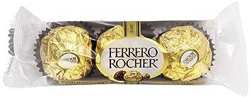 Amazon.com : Ferrero Rocher Fine Hazelnut Chocolates, 1.3 oz ...