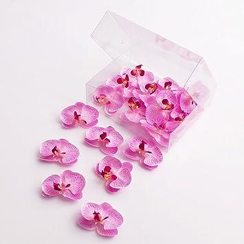Amazon De Artplants Kunstliche Mini Orchideenbluten Phalaenopsis