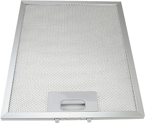 Qualtex - Rejilla de ventilación para extractor universal para campana de cocina, filtro de malla de metal para grasa, 300 x 240 mm: Amazon.es: Grandes electrodomésticos