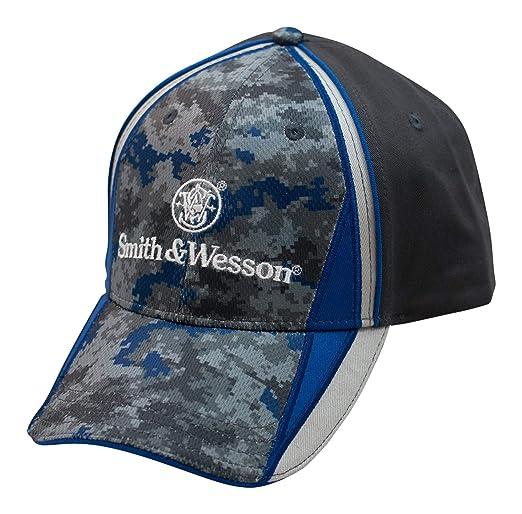 70f40432 Smith & Wesson Men's Logo Cap at Amazon Men's Clothing store: Novelty  Baseball Caps