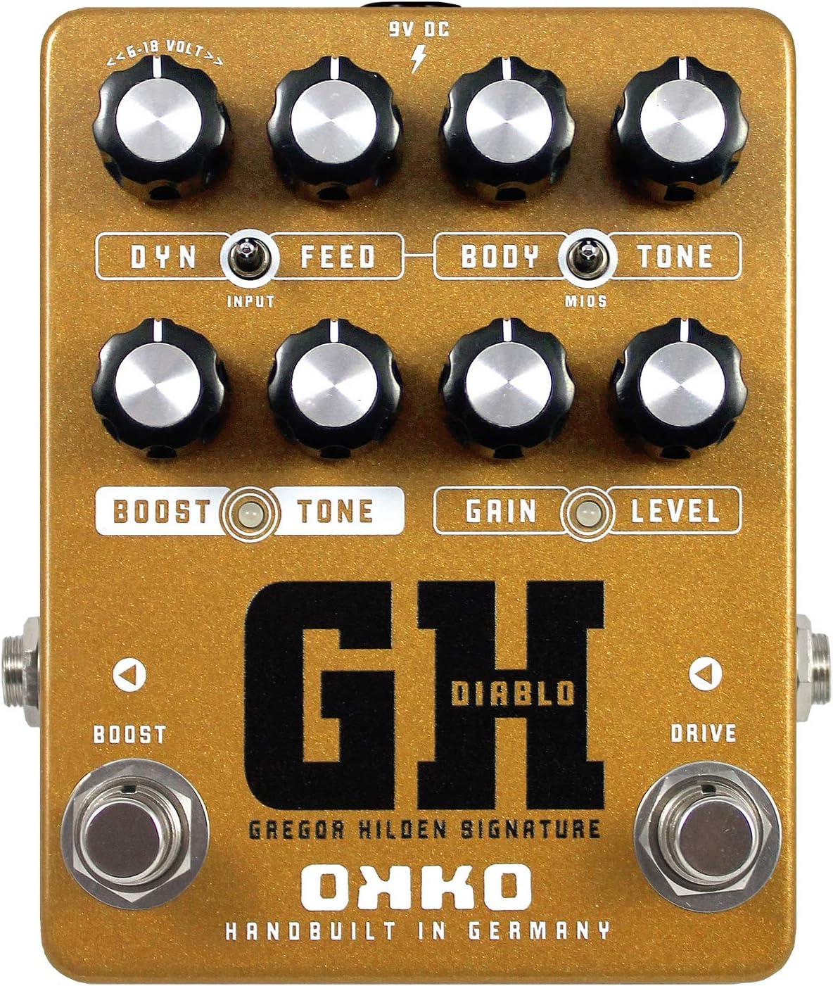 OKKO Diablo GH 「Gregor Hildenシグネーチャー」オーバードライブ・ペダル[国内正規品]