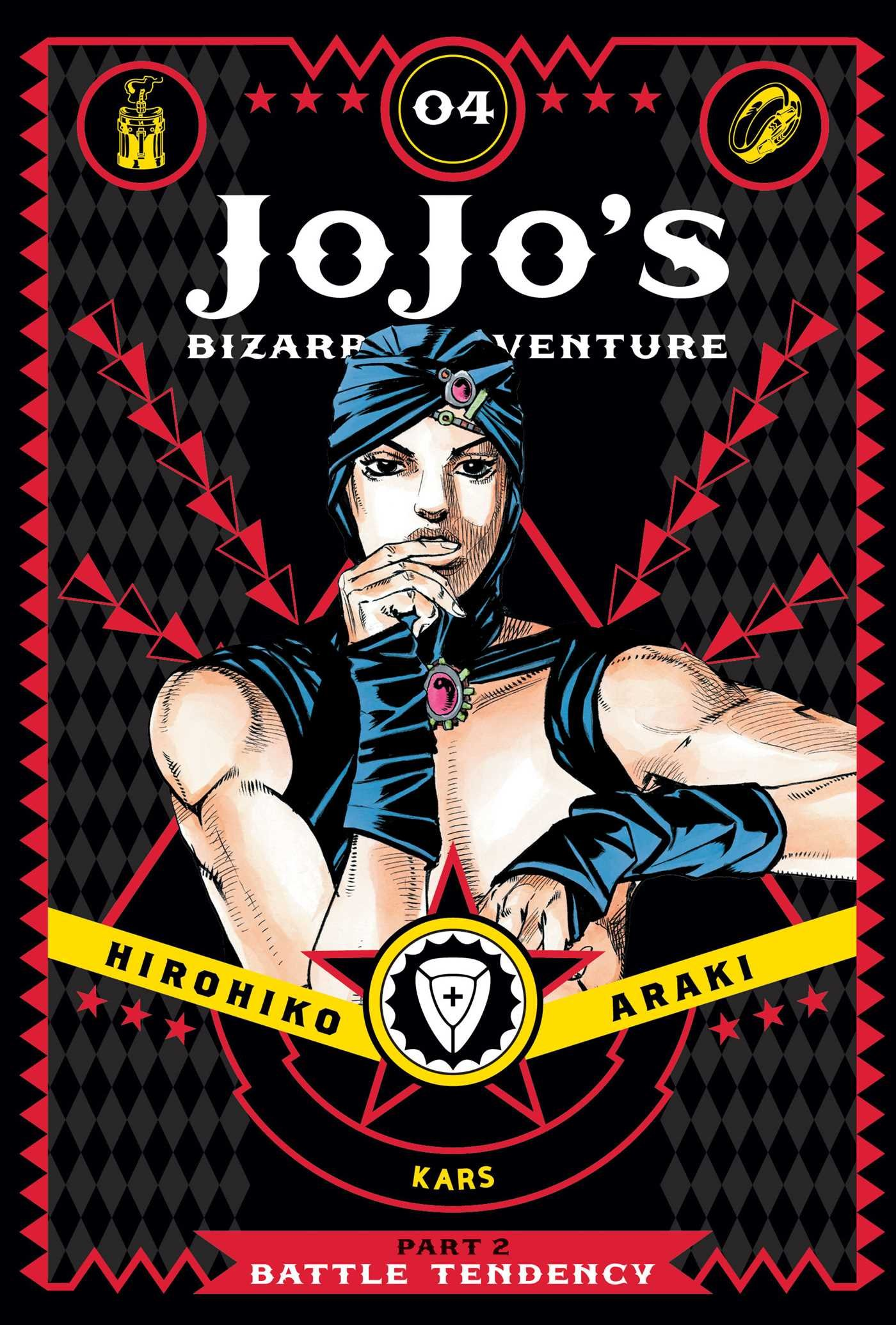 JoJo's Bizarre Adventure: Part 2--Battle Tendency Volume 4