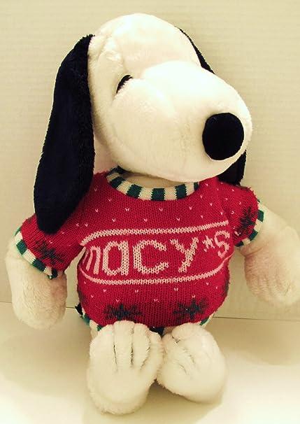 Amazon Com Vintage Snoopy Dog Macy S Christmas 1972 19 Tall